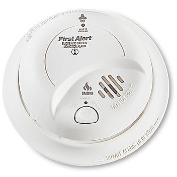 Smoke and Carbon Monoxide Detector - 9V Battery H-9467