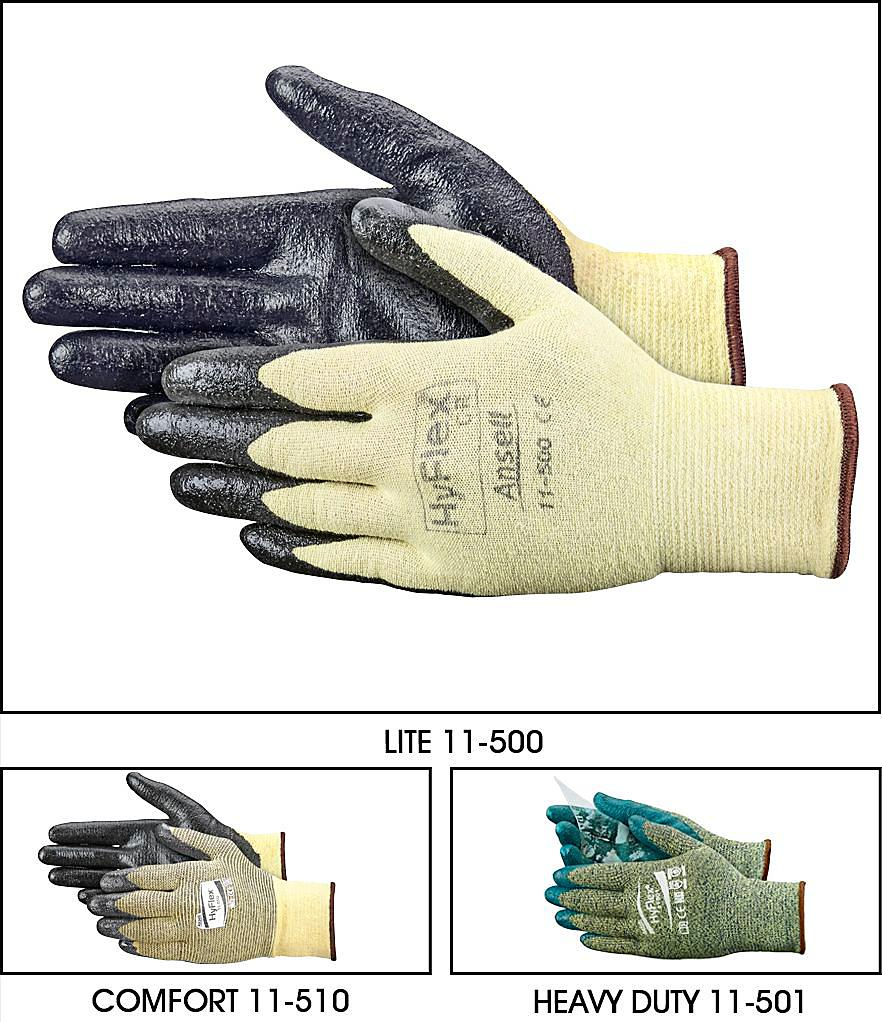 Ansell Coated Kevlar<sup>&reg;</sup> Cut Resistant Gloves