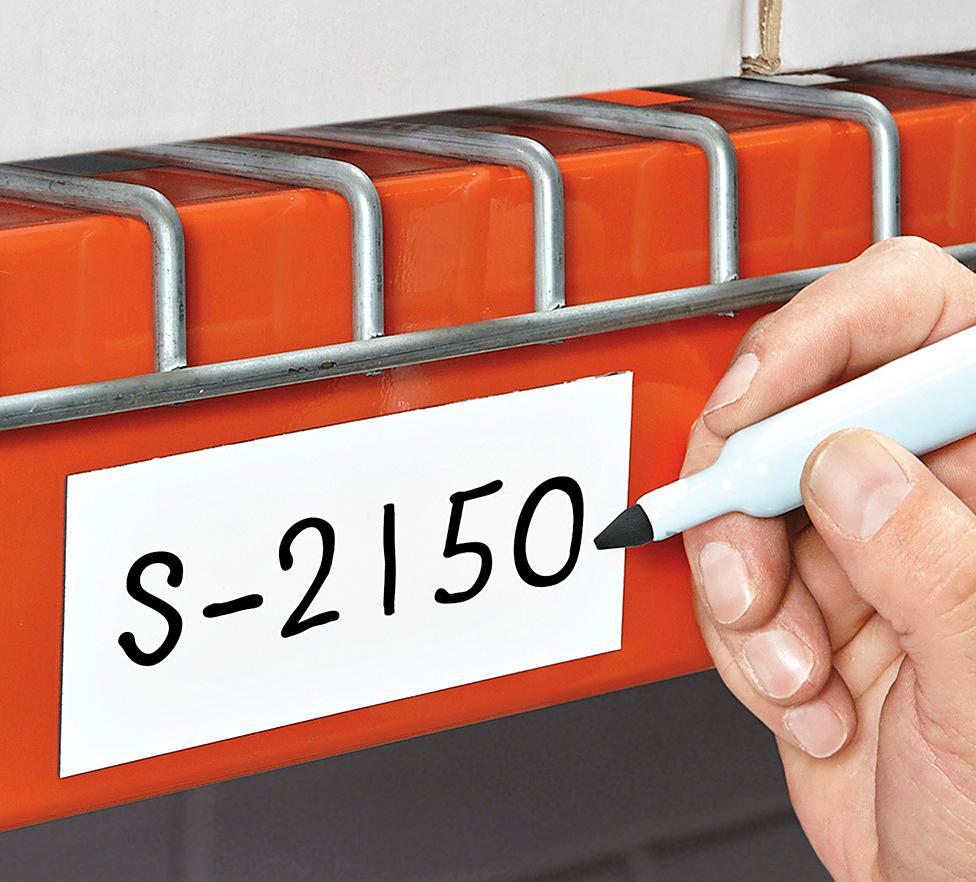 Etiquetas Magnéticas para Almacén - Rollos sin Perforación