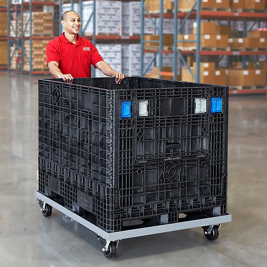 Collapsible Bulk Container Dollies