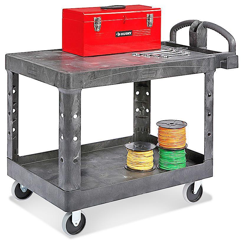 Rubbermaid<sup>&reg;</sup> Flat Shelf Carts