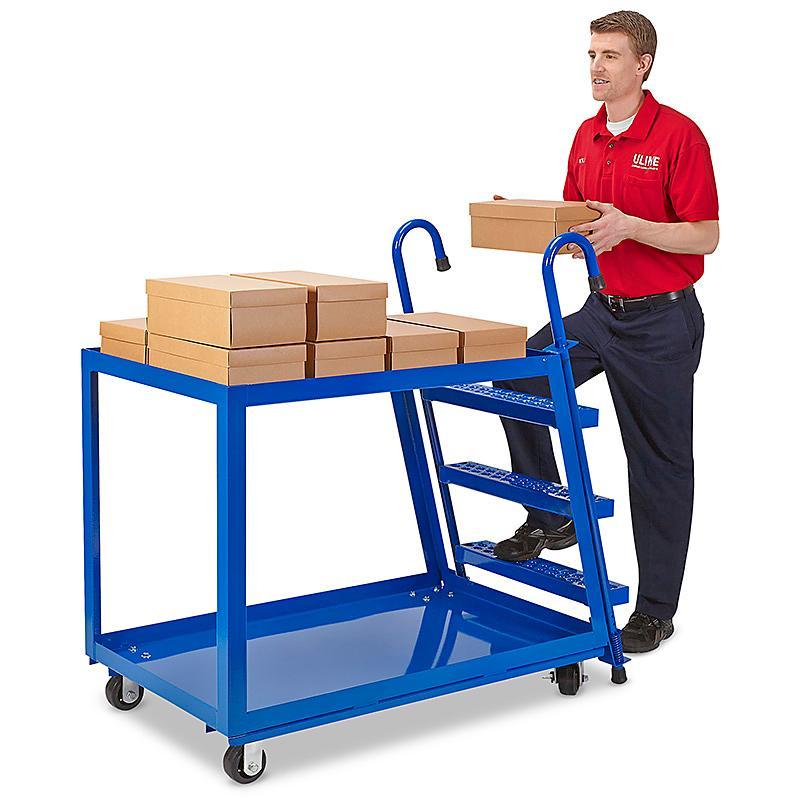 Stock Picking Ladder Cart