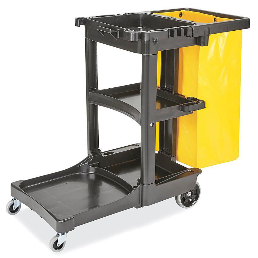 Uline Janitor Cart