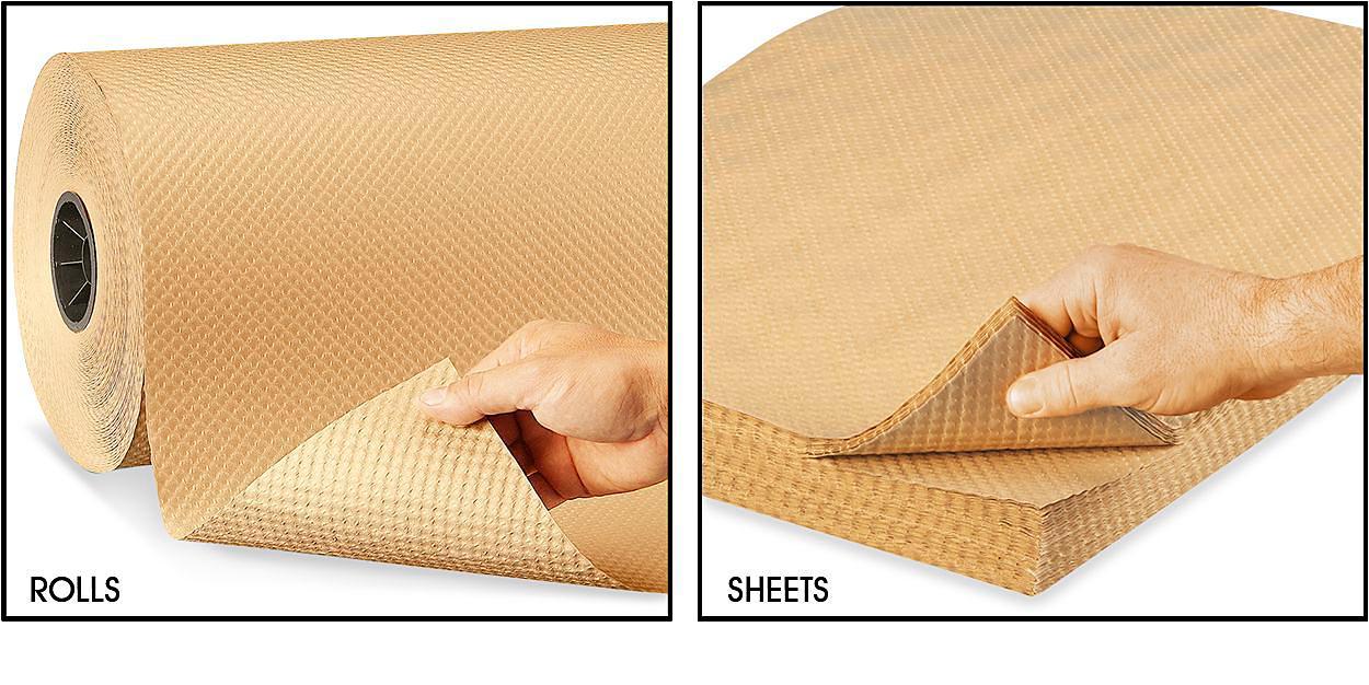 Indented Kraft Paper