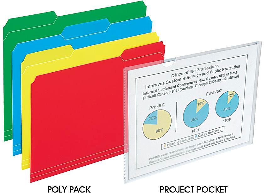Poly File Folders