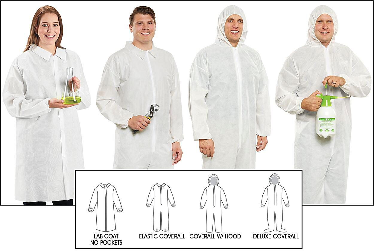 Uline Industrial Protective Clothing