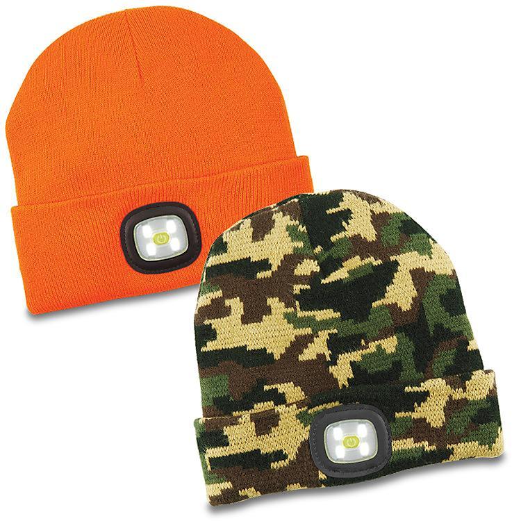 LED Knit Hat