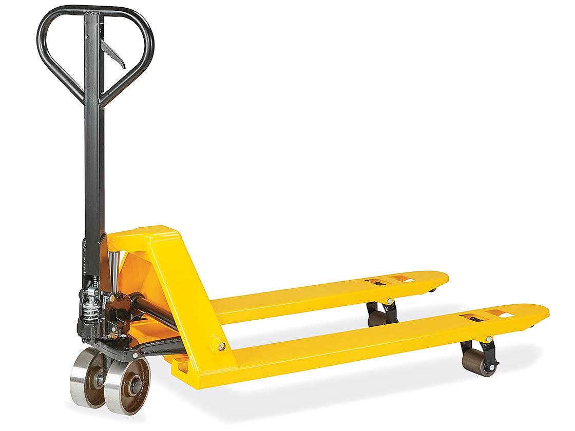 Uline Steel Wheel Pallet Truck