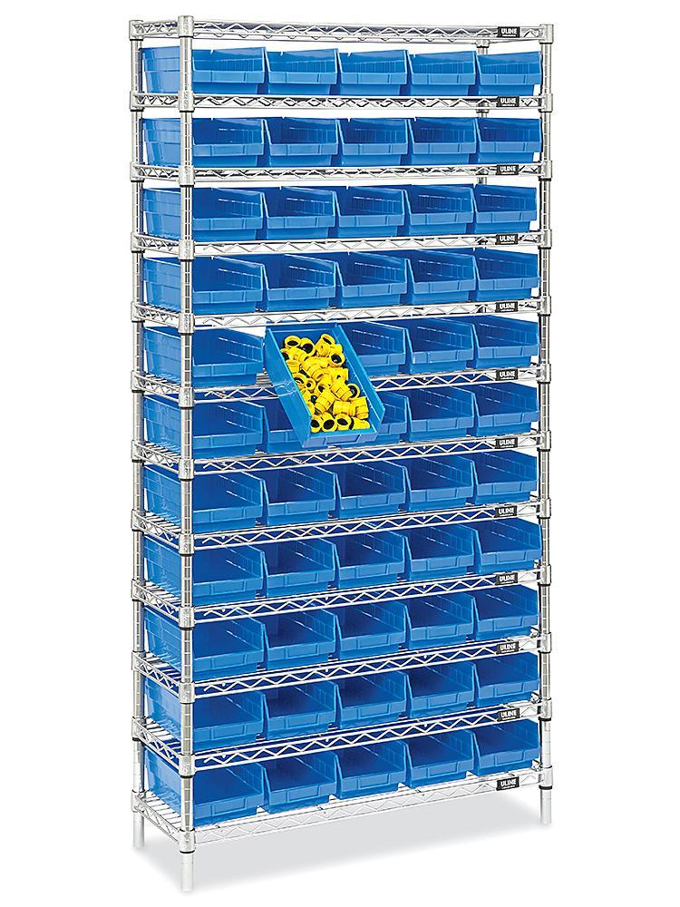 Wire Shelf Bin Organizers