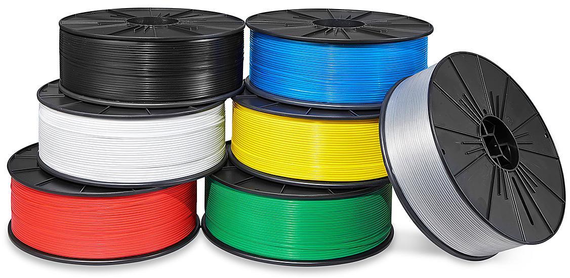 Plastic Colored Twist Ties - Spools