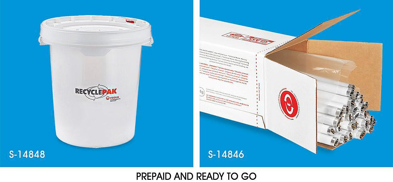 Prepaid Light Bulb Recycling Kits