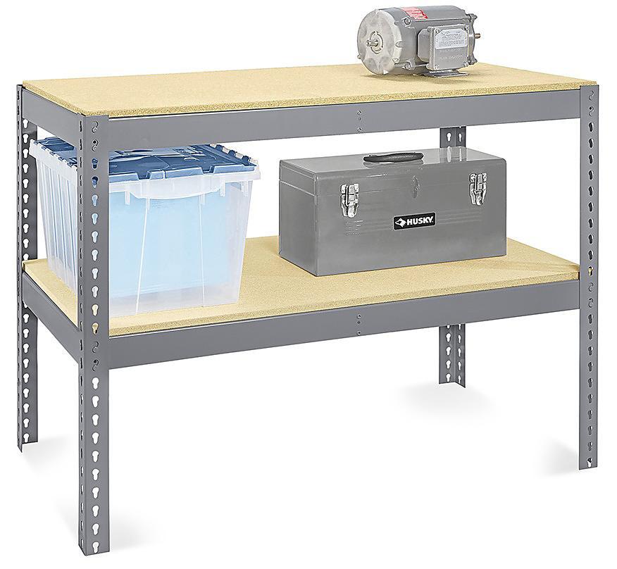 Two-Shelf Wide Span Storage Racks