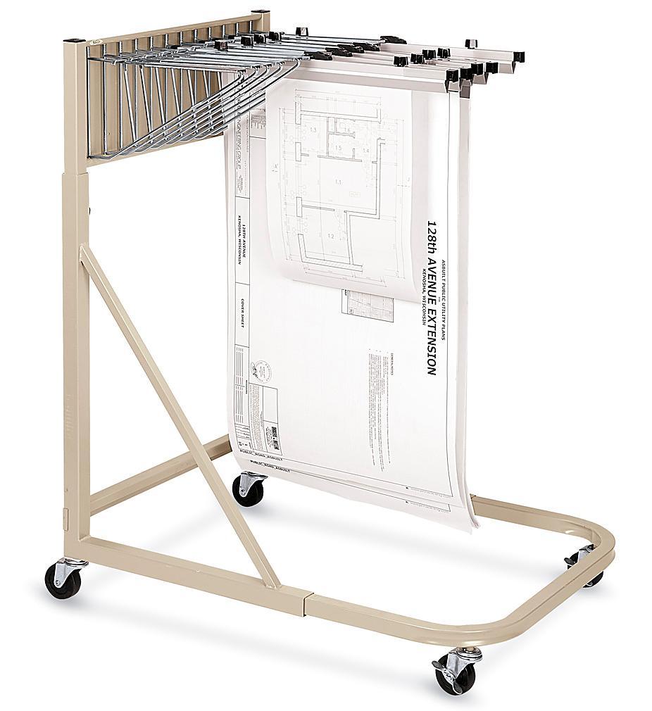 Mobile Blueprint Rack