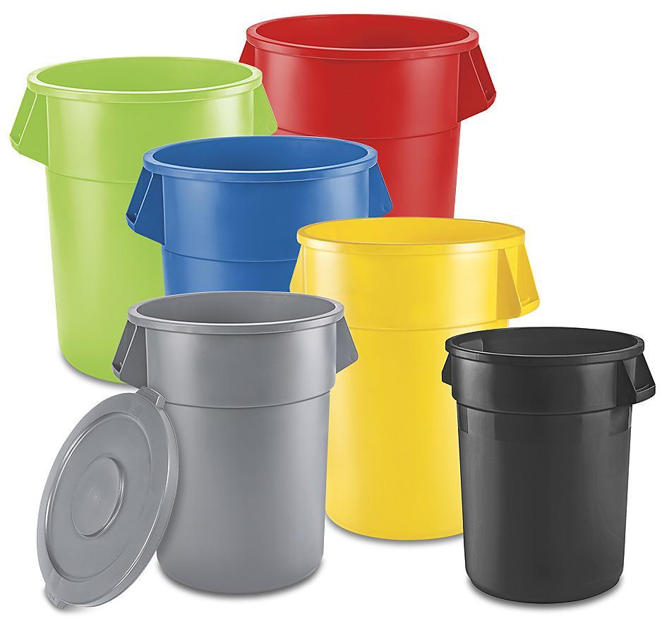 Uline Trash Cans