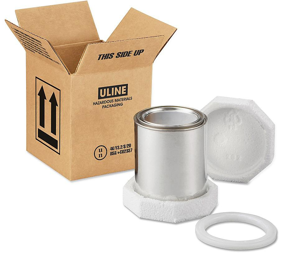 Paint Can Foam Shipper Kits