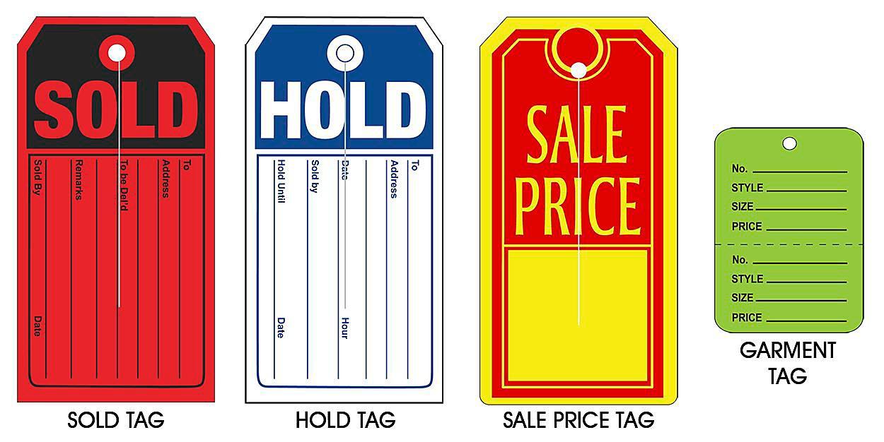 Retail Tags