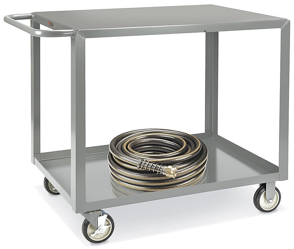 Uline Welded Steel Flat Shelf Carts