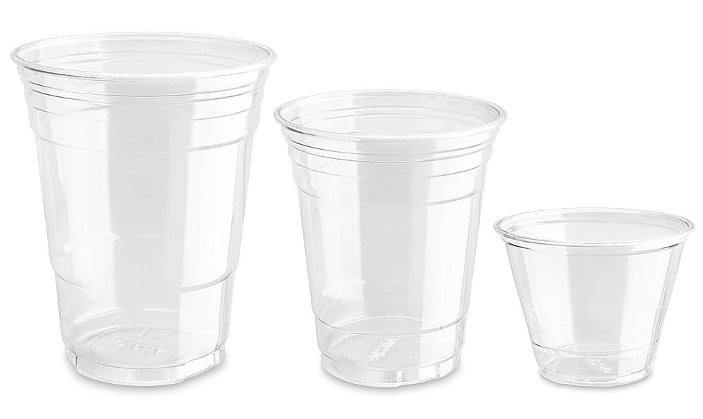 Dixie<sup>&reg;</sup> Crystal Clear Plastic Cups