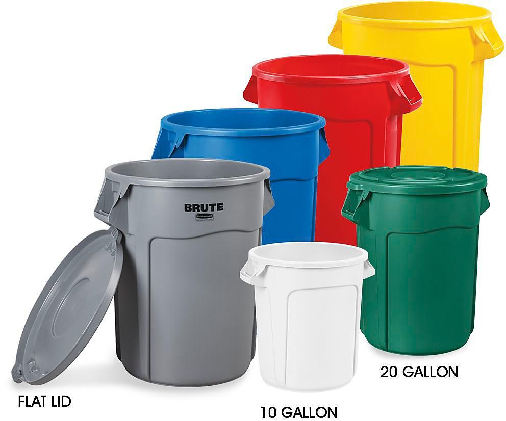 Brute<sup>&reg;</sup> Trash Cans