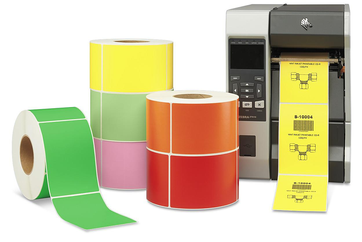 Industrial Thermal Transfer Labels - Colors