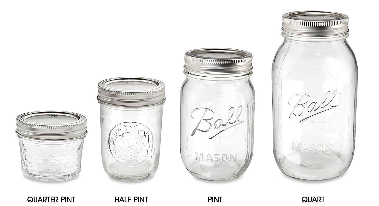 Ball<sup>&reg;</sup> Glass Canning Jars