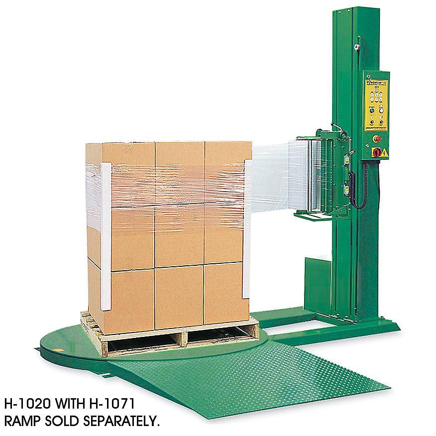 Uline Semi-Automatic Stretch Wrap Machines