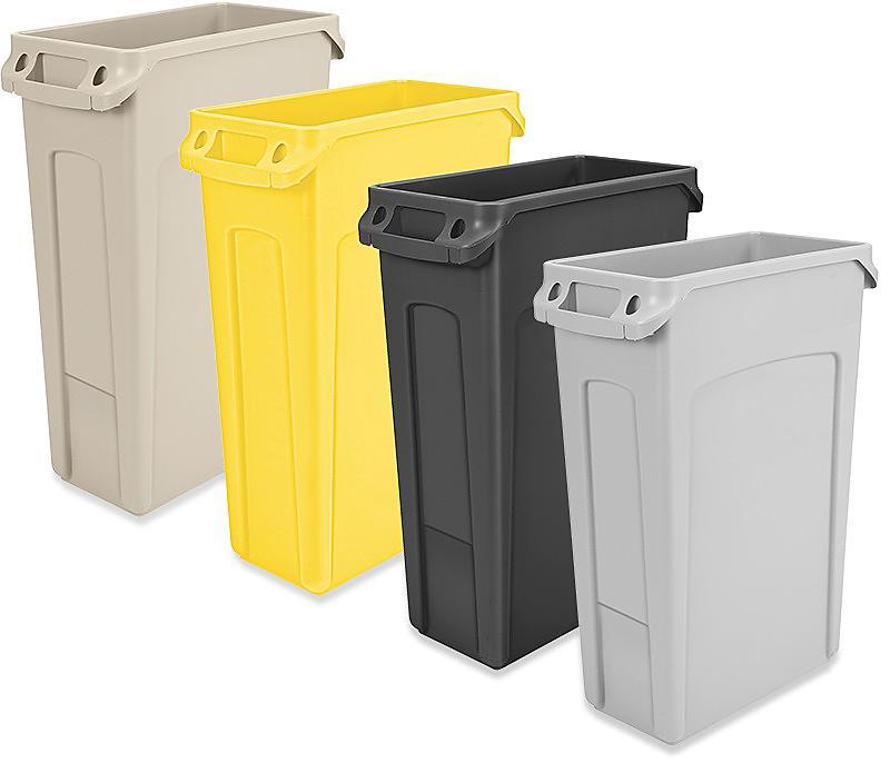 Slim Jim<sup>&reg;</sup> Trash Cans