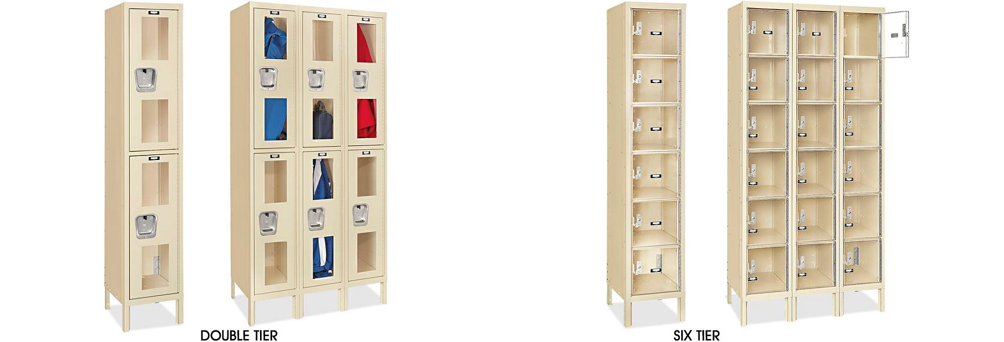 Clear-View Lockers
