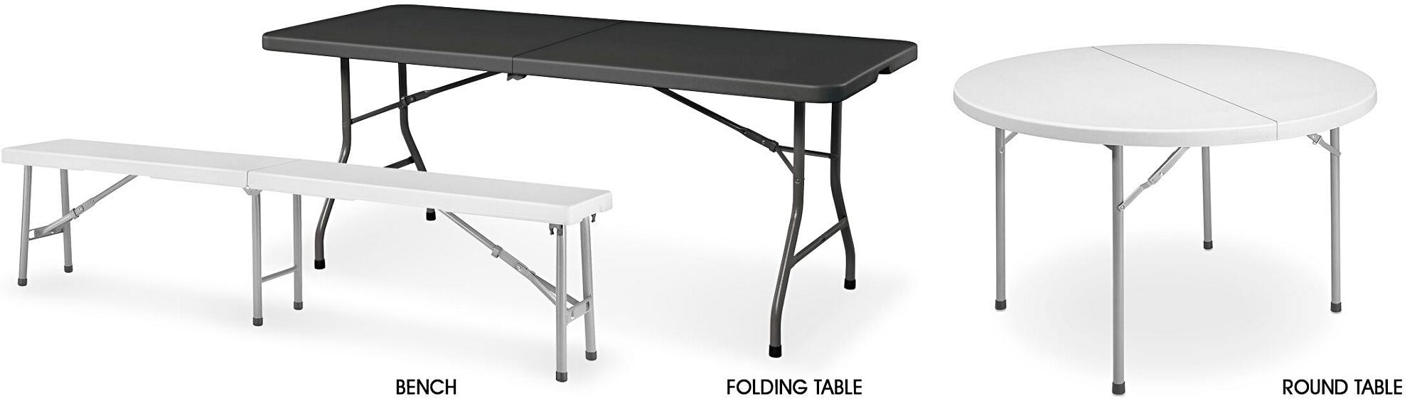 Economy Fold-In-Half Tables