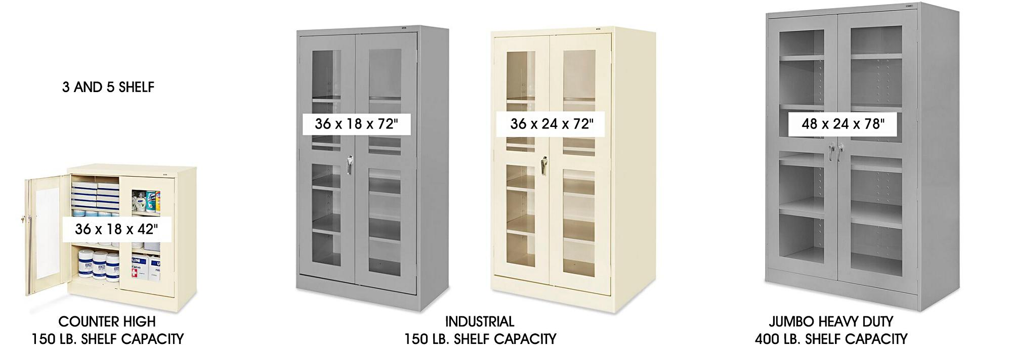 Clear-View Cabinets