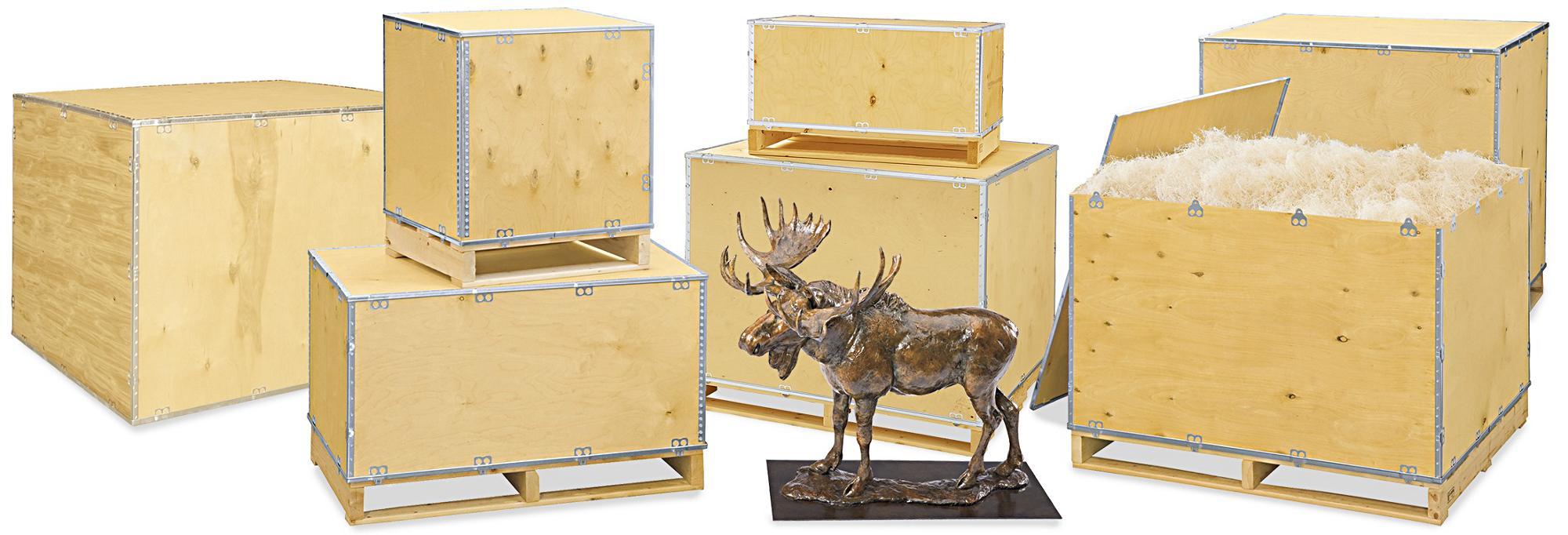 Standard Wood Crates