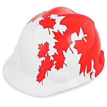 Casques de protection de fierté canadienne