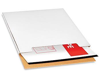 Jumbo White Fold-Over Mailers