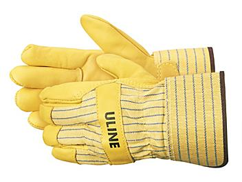 Deluxe Leather Palm Gloves