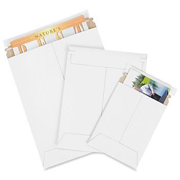 White Self-Seal Stayflats<sup>&reg;</sup> Mailers