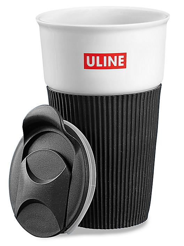 Uline Ceramic Travel Mug