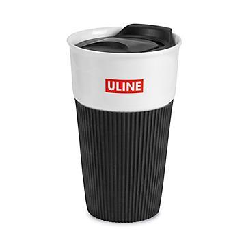 Uline – Tasse de voyage en céramique