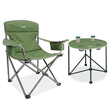 Ensemble chaise et table de camping