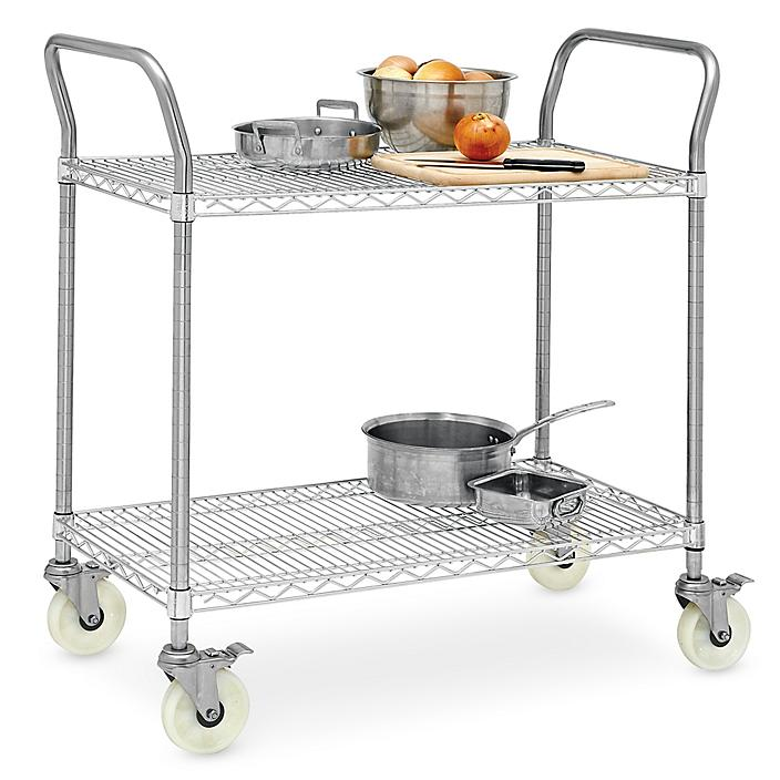 Stainless Steel Wire Carts