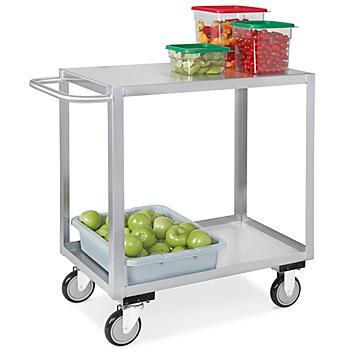 Stainless Steel Flat Shelf Carts