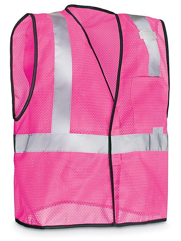 Pink Hi-Vis Safety Vest