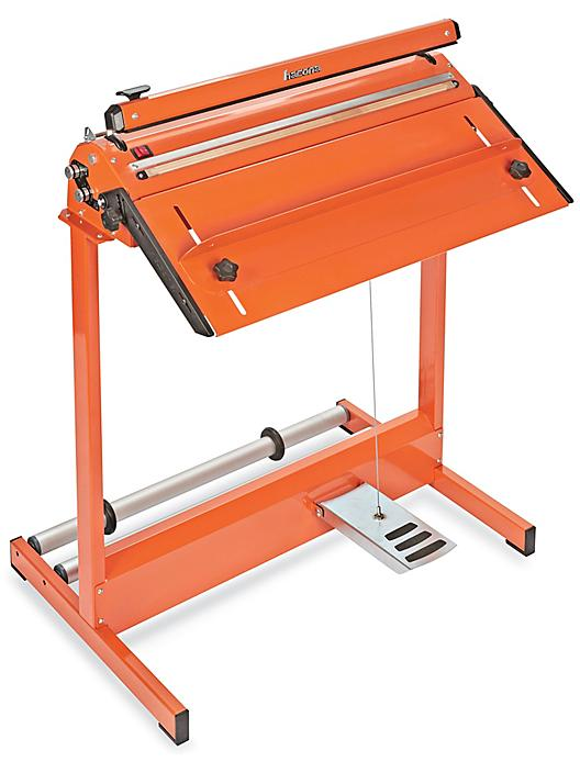 """Deluxe Foot-Operated Impulse Sealer with Cutter - 24"""" H-7594"""