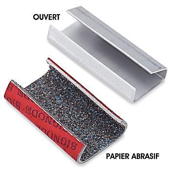 Joints en métal pour feuillard de cerclage en polypropylène