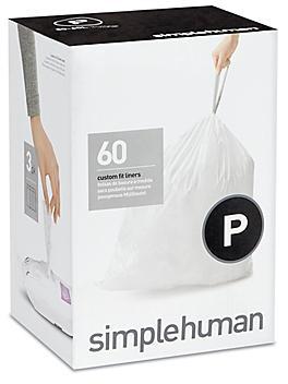 simplehuman<sup>&reg;</sup> Trash Liners