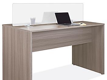 "Desktop Privacy Panel - Clamp-On, 48 x 15"""