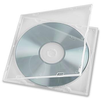 Square Plastic CD Cases