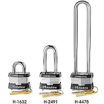 Master Lock<sup>&reg;</sup> Steel Padlocks