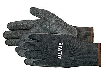 Uline Thermal Latex Coated Gloves