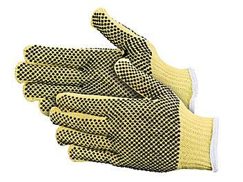 Kevlar<sup>&reg;</sup> PVC Dot Knit Cut Resistant Gloves