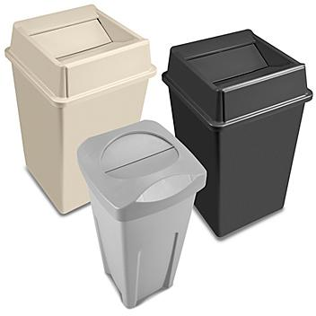 Hands-Free Trash Cans